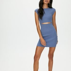 NWOT Aritzia Bodycon cutout dress